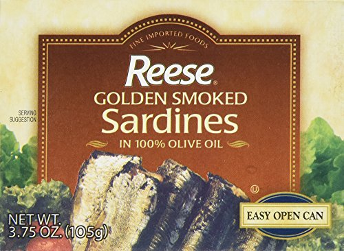 Reese Port Golden Smoked Sardines, 3.7500-ounces (Pack of10)
