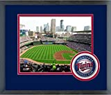"Minnesota Twins Target Field MLB Stadium Photo (Size: 13"" x 16"") Framed"