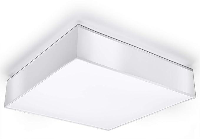 Soffitto lampada moderna casa ufficio made in eu mitra 45 white
