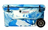 Fatboy 70QT Rotomolded Wheeled Chest Ice Box Cooler Marine Camo