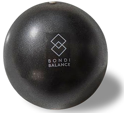 Bondi Balance Mini Exercise Ball 9 Inch for Stability, Pilates and Barre (Pump and Workout Guide Included)