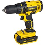 Stanley Cordless Brushless Drill Driver, Black/Yellow, Scd20S2K-B5