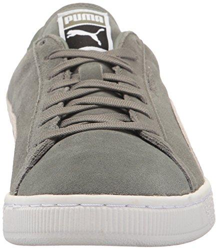 Classic puma Sneaker PUMA Suede Men's Fashion Green Agave White qxfwUw0