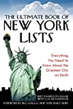 The Ultimate Book of New York Lists, Bert Randolph Sugar, 1602397740