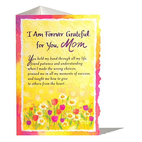Blue Mountain Arts Greeting Card for Mom (I Am Forever Grateful for You, Mom)