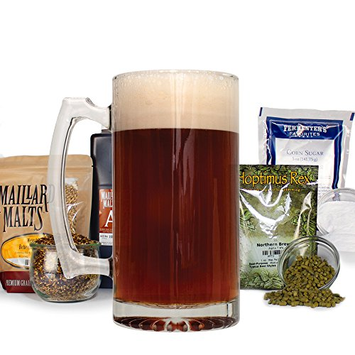 Caribou Slobber American Dark Brown Ale - All Grain Home Brewing Beer Making Recipe Kit - 5 Gallons Ingredients