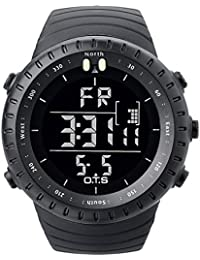 PALADA Men's Sports Digital Wrist Watches Electronic Quartz Movement Water Resistant Military Business Casual...