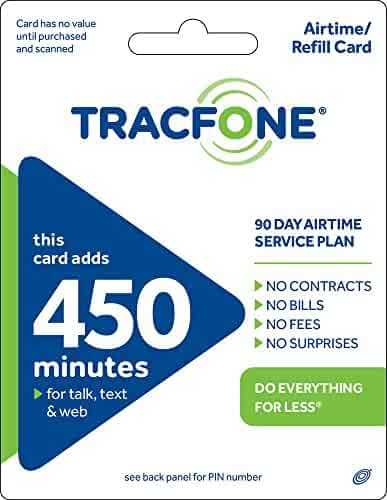 Tracfone 450 Minutes and 90 Days of Service