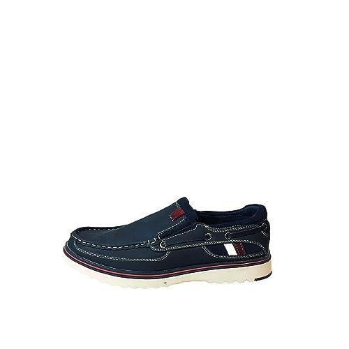 XTI - Zapatillas de tela para hombre Azul azul, color Azul, talla 40