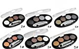 Long-lasting Waterproof Shadow Eyebrow power Kit Eye Brow Pen Make Up Powder Shaper Lining Cosmetic Makeup Tool 1 to 6