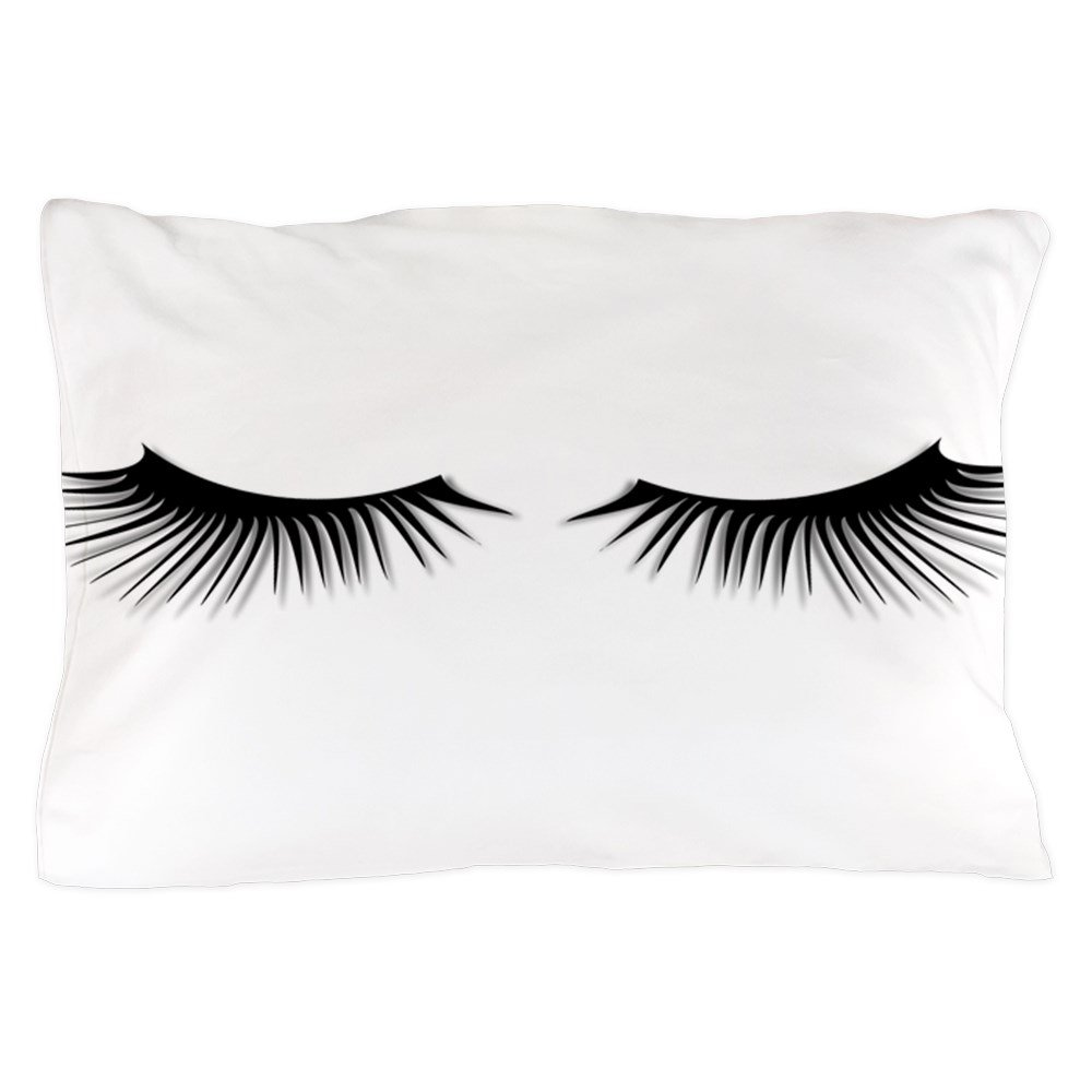 CafePress – まつげ – 標準サイズ枕カバー、20