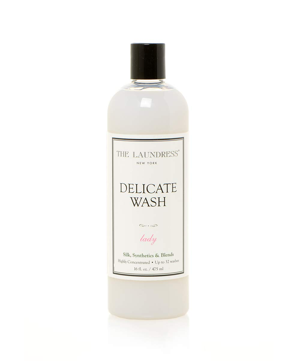 The Laundress - Delicate Wash, Lady Scented, Laundry Detergent for Delicates, Care for Fabric, Silk, Synthetics and Blends, Allergen-Free, 16 fl oz, 32 washes by The Laundress New York