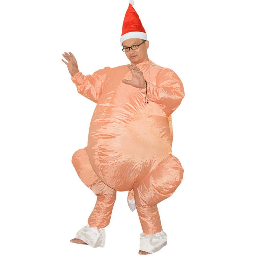Amazon.com: Zhanghaidong - Vestido hinchable para Halloween ...