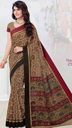 sposa 2601 sari indiano Matrimonio da Seta Saree etnico partywear abito richlook latest jari donna tradizionale indiano 1qpwAq