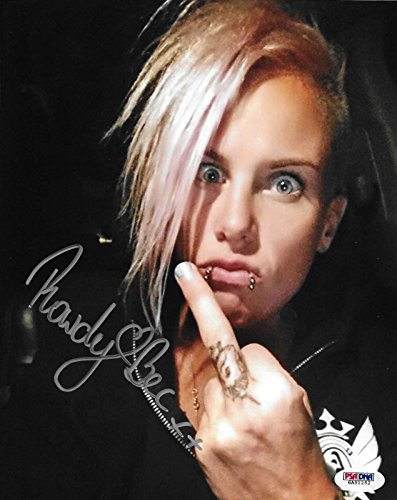 Rowdy Bec Rawlings Signed Ufc 8X10 Photo Coa Fight Night 65 Invicta Fc 1   Psa Dna Certified   Autographed Ufc Photos