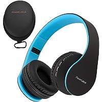 PowerLocus P1 – Auriculares Bluetooth inalambricos de Diadema Cascos Plegables, Casco Bluetooth con Sonido Estéreo con…