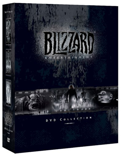 Blizzard Entertainment DVD Collection (Cut scenes for Diablo II Warcraft III and Starcraft) (Battle Net Balance)