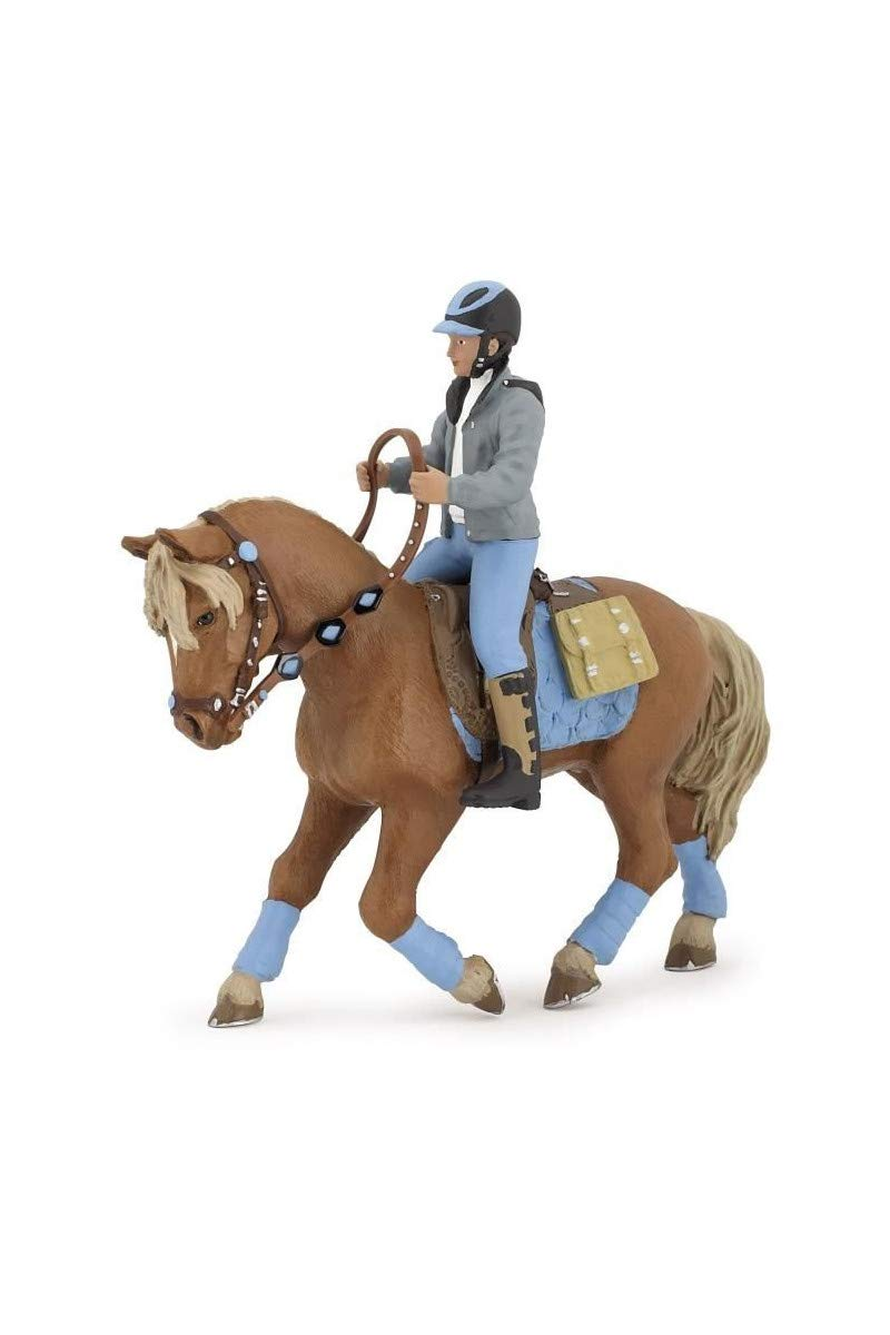 Papo Young Rider Figure, Multicolor
