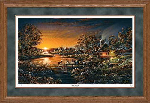 Wild Wings Basic Training Framed Limited Edition Print by Terry Redlin