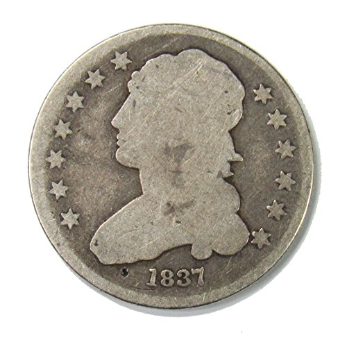 - 1837 Capped Bust Quarter 25¢ Good