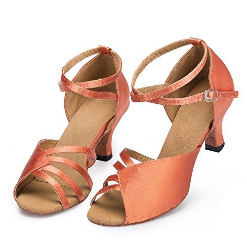 Miyoopark - salón mujer Brown-6cm heel