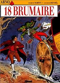 Arno, tome 4 : 18 Brumaire par Jacques Denoël