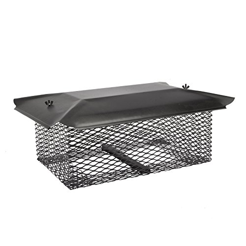 Universal Covers U1313B58 Universal Chimney Cover with 5/8