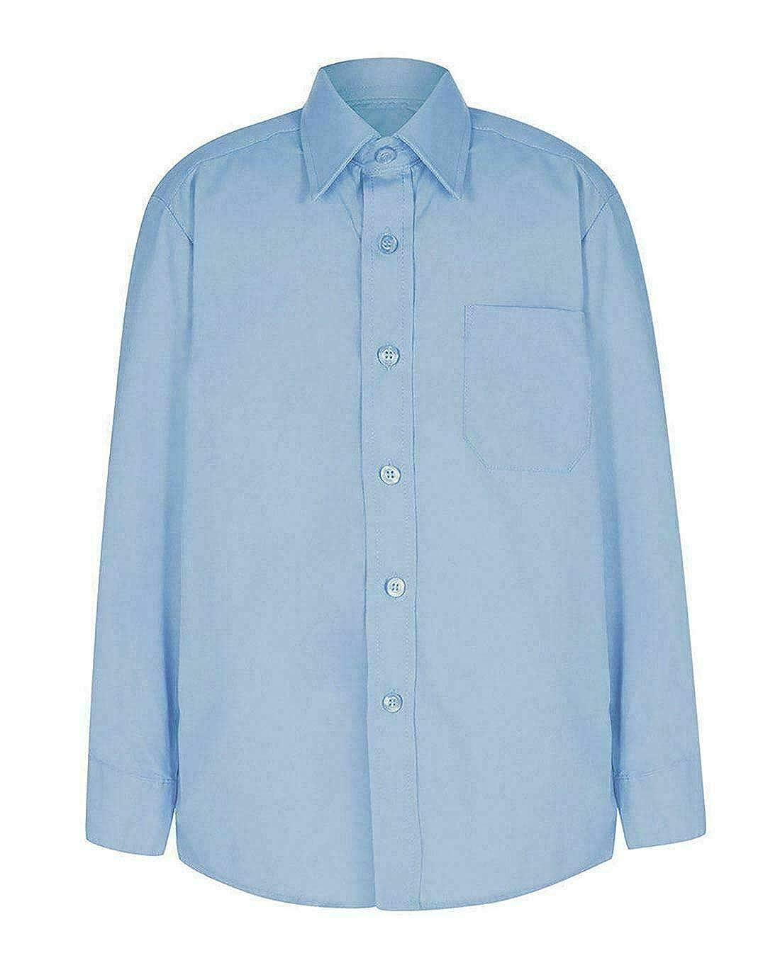 My Choice Stuff Kids School Uniform Button Down Collared Shirt Formal Top