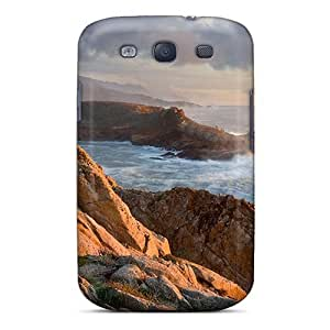 Premium Protection Headl Cove Point California Case Cover For Galaxy S3- Retail Packaging