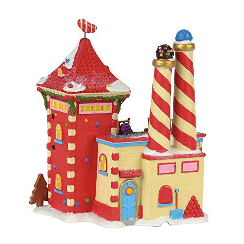 Department 56 North Pole Candy Crush Factory Village Lit Building Multicolor by Department 56 (Image #1)