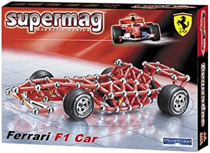 Supermag 0199 - Ferrari F1 Car: Amazon.co.uk: Toys & Games