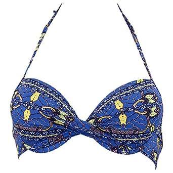 Kiwi Saint-tropez Blue Bikini For Women