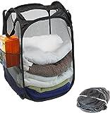 2 Pack - SimpleHouseware Mesh Pop-Up Laundry Hamper