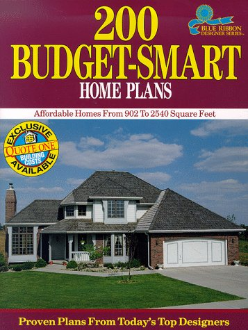 200 Budget Smart Home Plans Affordable Homes From 902 To 2 540 Square Feet Blue Ribbon Designer Series Mulvin Paulette 0029129000975 Amazon Com Books