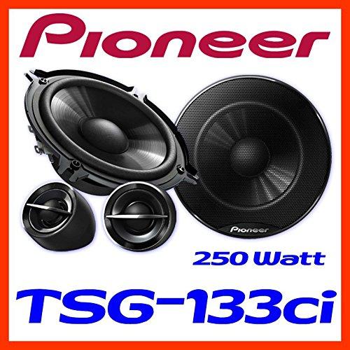 Pioneer TS-G133Ci 13cm Lautsprechersystem Einbauset f/ür Renault Clio 3 Front Heck JUST SOUND best choice for caraudio