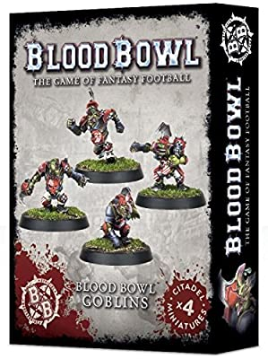 Blood Bowl The Game of Fantasy Football Goblins (4 Miniatures) from Games Workshop