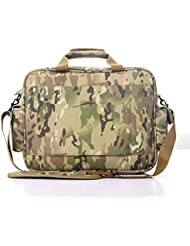 Yakeda Tactical Brief Case Outdoor 15.6 Laptop Bag Multifunction Handbags Briefcase-DN011