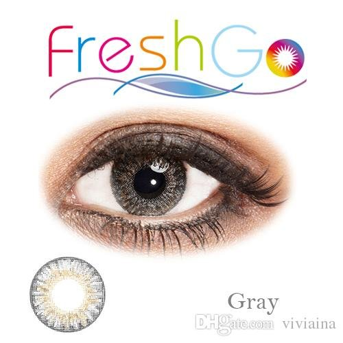 Beautiful Sterling Gray - Hazel Colored Contacts