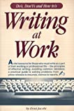 Writing at Work, Ernst Jacobi, 0898151473