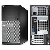 Dell 3020 Mini Torre, Intel Core i3 4130 3.4 GHz, 8 GB DDR3, 500 GB, Windows 10 Pro, Negro Reacondicionado (Certified Refurbished)
