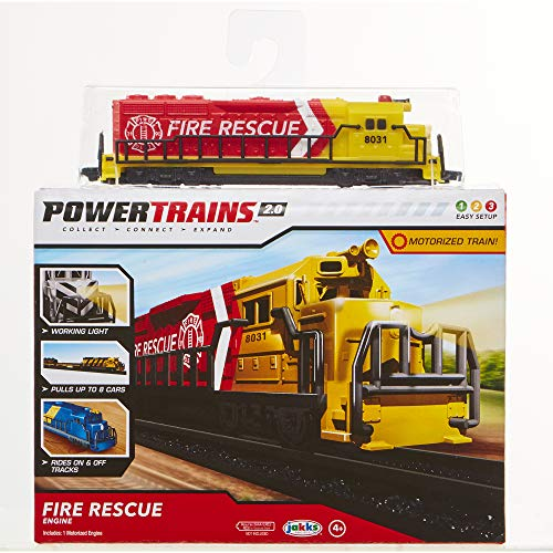 Power Trains Fire Rescue Engine Pack
