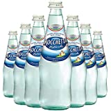 Rocchetta Still (Non-Sparkling) Natural Spring Water in 33.8 oz Glass Bottles (6 Pack)