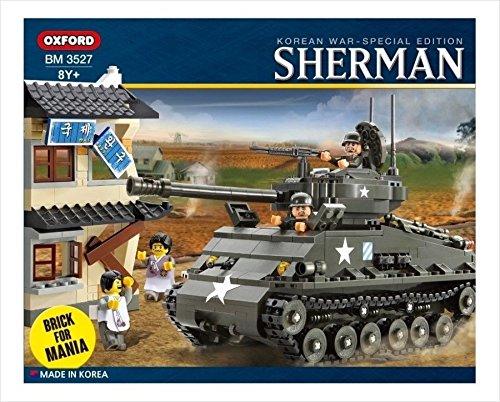 Oxford 767 Piece Sherman M4A3E8 Easy 8 Tank Building Block Set (M4a3e8 Tank)