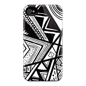 New FlXKxkB4109ssDJt African Pattern Tpu Cover Case For Iphone 4/4s