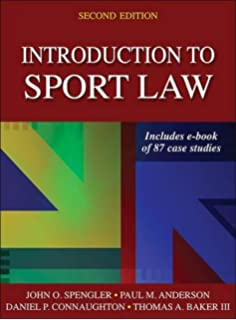 Sports in society issues and controversies jay coakley professor introduction to sport law with case studies in sport law 2nd edition fandeluxe Gallery