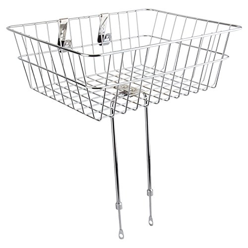 Sunlite Standard Deep Basket, Large (18'' x 13'' x 6''), Silver (UCP) by Sunlite