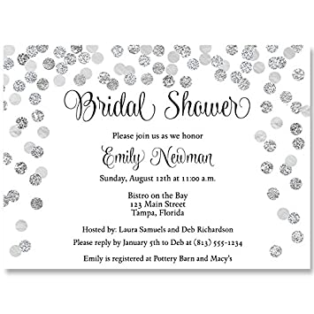 4e62de53bbd Amazon.com   Bridal Shower Invitations