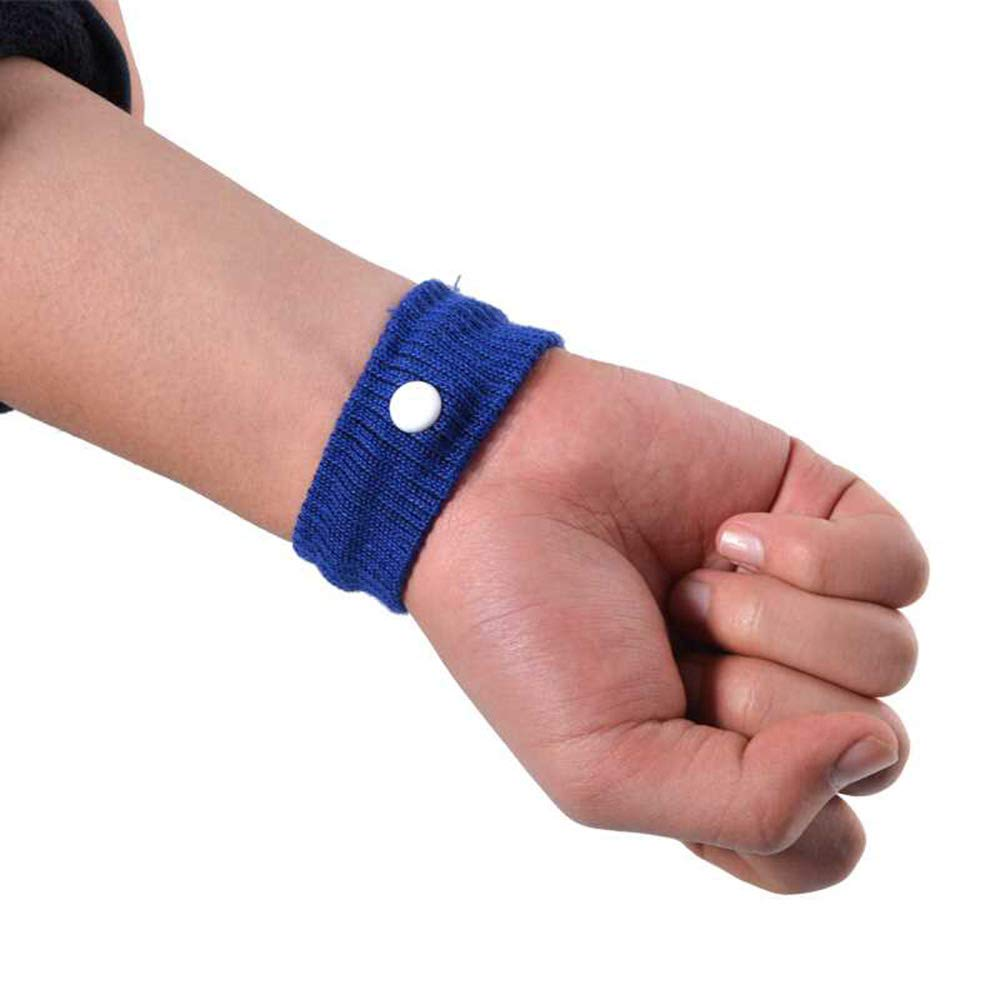 Potelin 1 Pcs Anti-Motion Car Wristbands Anti-Halation Wrist Band Nausea Relief Wristbands for Children and Adults Outdoor Travel Supplies(Random Color)