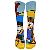 Little Einsteins 1 Pair Over-The-Calf Socks Cosplay Socks Knee High Lightweight Ribbed Dress Stockings