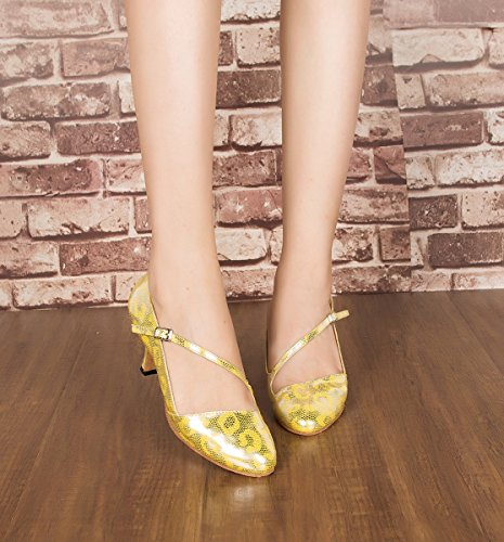 Ballroom Gold 5cm Minitoo Heel Donna 7 EdOOYvq